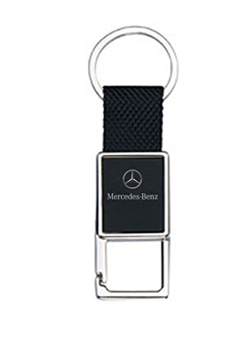 mercedes-lifestyle-collectio-nylon-and-metal-snap-key-chain