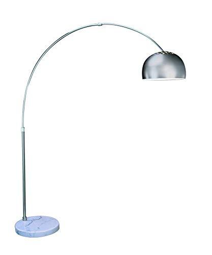 Trend Lighting Arc Floor Lamp, Brushed Nickel ()