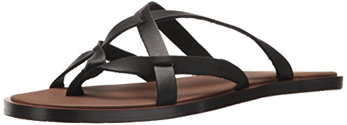 Sanuk Women's Yoga Strappy Sandal, Black, 10 M - Sanuk Usa