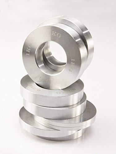 F/ür 50mm Hanteln 1 Paar Lex Quinta Fractional Plate 2 x 0,5kg