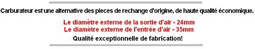 G/én/érique 50 Haut Moteur Cage /À Aiguille CARBURATEUR Set KIT pour DERBI Atlantis Bullet de