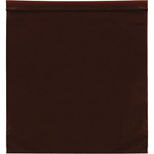 """Aviditi PB12107  Reclosable UV Bags, 3 Mil, 12"""" x 15"""", Am..."""