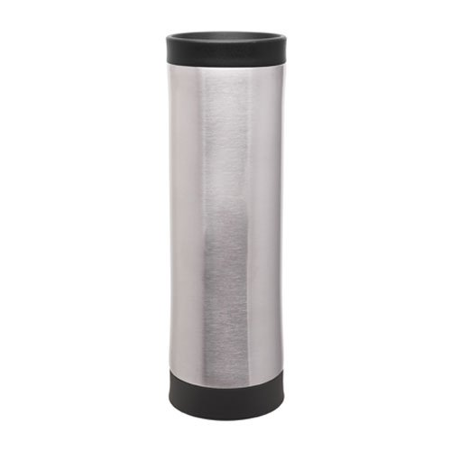 18/8 Stainless Travel Thermal Tumbler - Vacuum Insulated Double Wall - 16oz. Capacity - Brushed Stainless