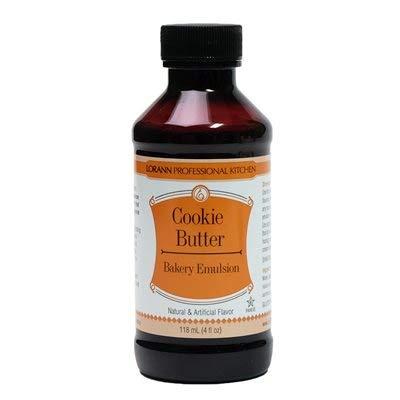 LorAnn Cookie Butter, Bakery Emulsion, 4 ounce bottle