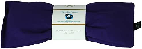 Eye Pillow Vacation Organic Flax Seed Filled Lavender Eye Pillow