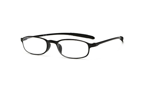 GAMT Ultra Lightweiht TR90 Unbreakable Reading Glasses Unisex Readers for Reading - Clear Near Me Glasses Lens