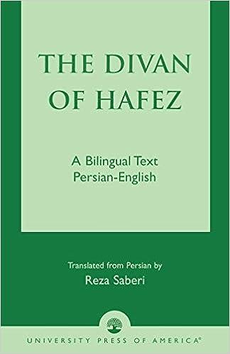 Amazon the divan of hfez a bilingual text persian english amazon the divan of hfez a bilingual text persian english 9780761822462 khja shamsuddin mohammad hfez reza saberi books fandeluxe Images
