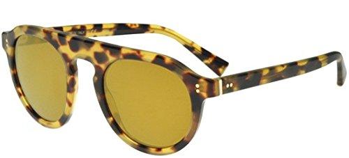 Dolce and Gabbana DG4306 512/W4 Light Havana DG4306 Round Sunglasses Lens Categ (Dolce Und Gabbana Sport-tasche)
