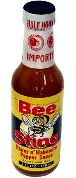 Bee Sting Honey N' Habanero Hot Sauce, 5 fl oz Thai Sweet Hot Sauce