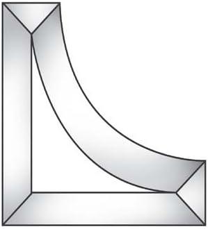 3 x 3 x 1 Corner Bevel Cluster