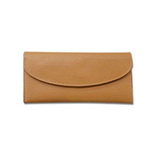 Eysee - Cartera de mano para mujer Amarillo rojo vino 19cm*11cm*2cm. caqui