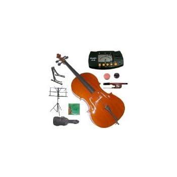 Amazon.com: MERANO mc100ps 4/4 Tamaño Completo Student Cello ...