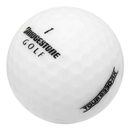 Bridgestone 12RDRLFLBX-RF-B330RX-Golf Balls - Mint Quality - 12 Pack, White, One Size