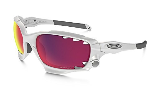 Oakley Racing Jacket Sunglasses Polished White / Prizm Road & Cleaning - Sunglasses Racing Jacket Oakley