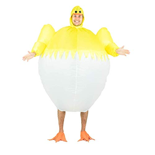 Bodysocks Adult Inflatable Chick Fancy Dress ()