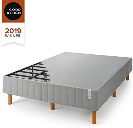 ZINUS GOOD DESIGN Award Winner Justina Metal Mattress Foundation / 16 Inch Platform Bed / No Box Spring Needed, Queen 312xX6LLUSL