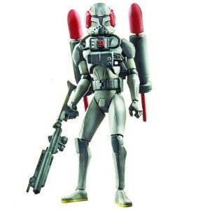 Star Wars 2011 Clone Wars Animated Action Figure CW No. 57 Stealth Ops Clone