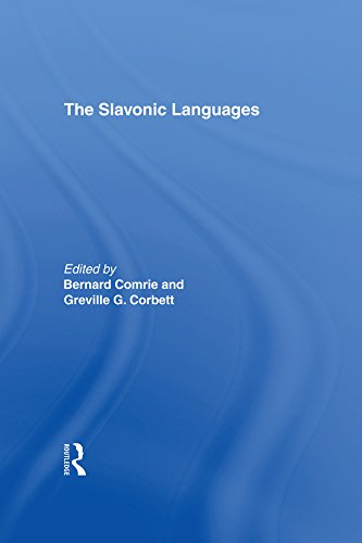 The Slavonic Languages (Routledge Language Family Series) Pdf