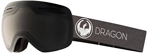 Dragon Alliance X1s Ski Goggles, Black, Medium, Echo/Transitions Clear Lens