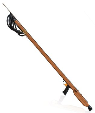 (JBL Mid Handle Magnum 450 Woody 3 Band Spear Gun with M8 Trigger 6W50MH )
