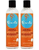 "Curls Creme Brule Whipped Curl Cream 8oz ""Pack of 2"""
