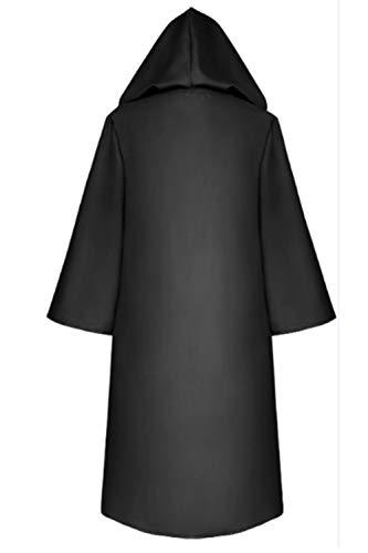Cape Cosplay Manteau Noir Halloween Solide À Capuchon Femmes Zamtapary WUAZ7q0Oq