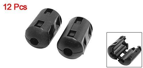 eDealMax a14041800ux0790 Filtro Anillo supresor del ruido de Cable Agujero núcleo de ferrita EMI, 5 mm, Negro: Amazon.com: Industrial & Scientific