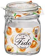 Bormioli Rocco, Jar Fido Square 0.75 Litre