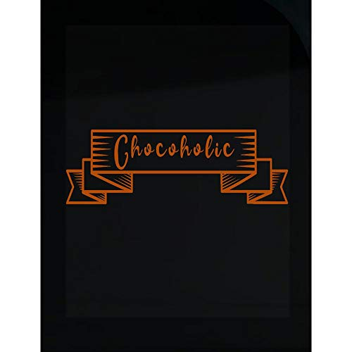 - Stuch Strength Chocolate Lover Transparent Sticker Chocoholic Sweet Tooth Gifts Design