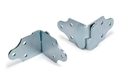 Farm Tough Tools Stake Rack Corner Connector Set, Inside or Outside Mount - Zinc Plated - 2 Corners ()