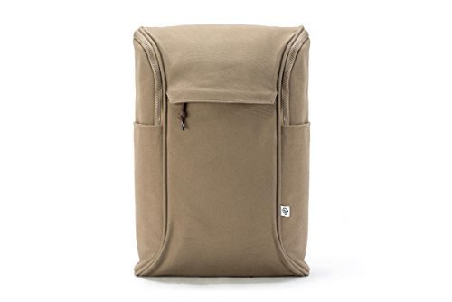 Daypack, brown-canvas