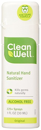 Cleanwell All Natural Sanitizer Original 1 Ounce product image