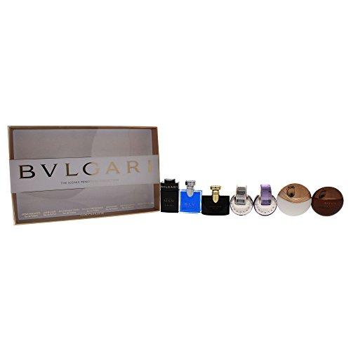 BVLGARI 7 Piece Fragrance Mini Set -