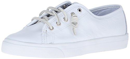 Sperry Damen Seacoast Core Fashion Sneaker Weißes Leder