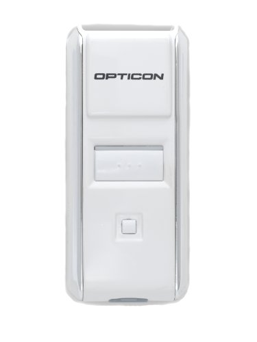 Opticon OPN-3002I   2D CMOS Imager, Supports Apple iOS, Android, Blackberry and Windows, USB/Bluetooth Interface, White by OPTICON