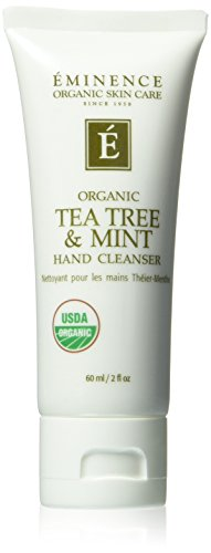 Eminence Organics Tea Tree and Mint Hand Cleanser, 2 Ounce