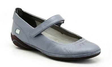 Clarks Icrus Bar Light Blue Leather Comfortable Mary Jane Shoes UK Size 4 ,5 ,6