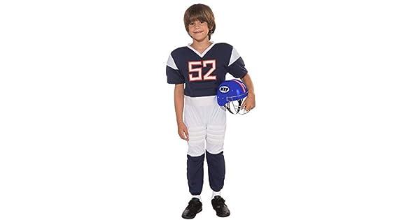 Amazon.com: Disfraz de jugador de fútbol para ...