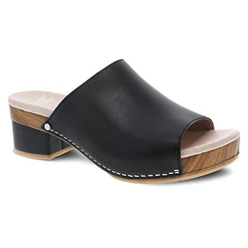 Dansko Women's Maci Black Sandal 8.5-9 M US from Dansko