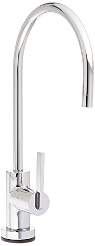 Kingston Brass Gourmetier KS8191CTL Continental Single Handle Water Filtration Faucet, Polished Chrome (Polished Chrome Water)