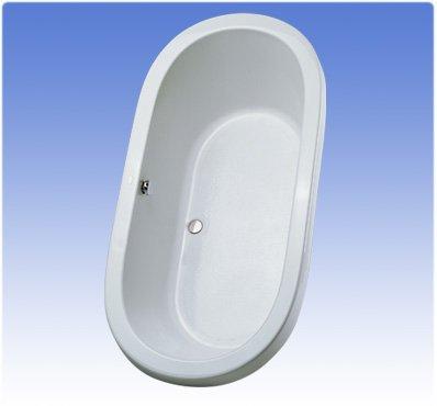 TOTO ABY794N#01N Nexus Soaker Tub, Cotton, Cotton White