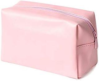 化粧品袋 多機能化粧品収納袋ポータブルトラベルコスメティックバッグ大容量コスメティックバッグ 旅行化粧収納ボックス (Color : Solid color)