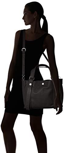 Hombro Shoppers Mujer De Ring schwarz black Negro Bolsos Liebeskind Berlin Y Rishoppl w0HHqC