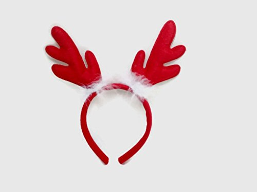 Christmas Headbands Reindeer Antlers Clips Santa Hats : H5 (Reindeer 1) (Tv Of On Christmas Melodies)