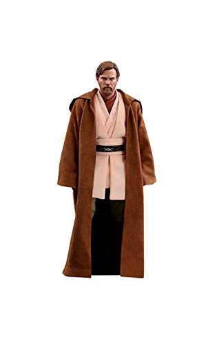 Hot Toys Star Wars: Episode III: Revenge of The Sith OBI-Wan Kenobi (Deluxe Version) 1/6 Scale Movie Collectible Figure