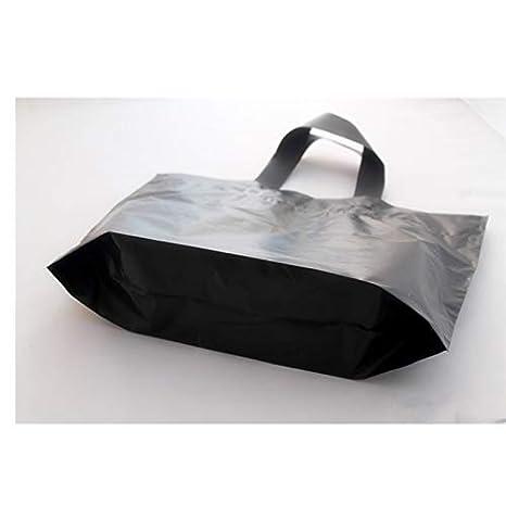 Amazon.com: JEWH - Bolsa de regalo de plástico con asa negra ...