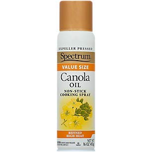 Spectrum Organic Products Canola Oil Non-Stick Cooking Spray 16 OZ Packaging May Vary
