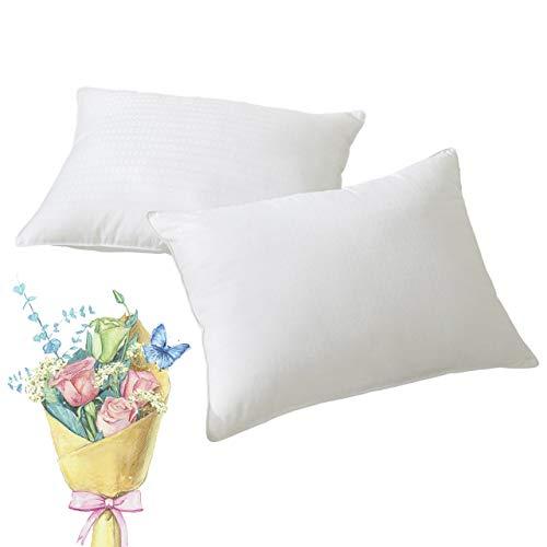 Pillow Fabric Cotton (Goose Down Alternative Pillow(2-Pack,20