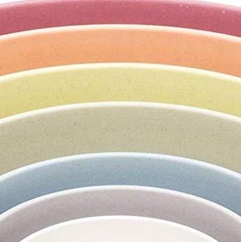 Bamboozle BZ0303NB Seven Piece Pastel Nesting Bowls by Bamboozle (Image #2)