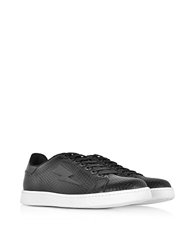 Neil Barrett Sneakers Uomo PBCT234G9009524 Pelle Nero